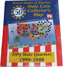 State Map Games by Amazon Com United States Of America State Coin Collector U0027s Map By
