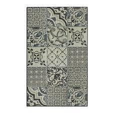 tapis de cuisine carreaux de ciment 50x80cm en vinyle vistaciment