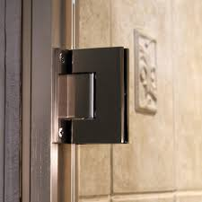 3 8 glass shower door trufit series tru1 3 8 glass c pull polycarbonate semi frameless