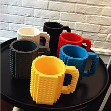 Creative Coffee Mugs Diy Brick Mug Building Blocks Creative Coffee Cup Block Puzzle Mug