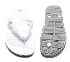 mens sandals nike solarsoft thong ii flip flop white grey