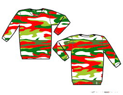 camo christmas christmas camo standard sweater custom christmas sweaters