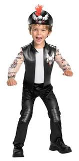 toddler costumes kids biker bad boy toddler costume mr costumes