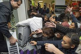 tv for sale black friday boxing day sales stampede starts this morning daily mail online