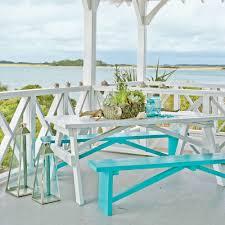 Nautical Patio Decor by 65 Beachy Porches And Patios Coastal Living