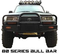 lexus lx450 ebay toyota 4x4 4wd 80 series landcruiser steel front bull bar winch