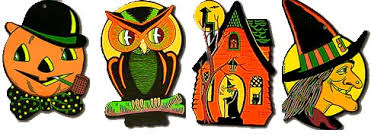 Halloween Cut Outs The Vintage Halloween Store Bewitching Party Decor