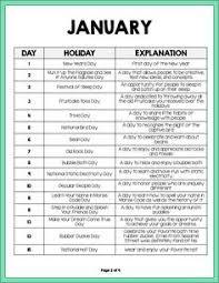 august daily holidays calendar calendars daily