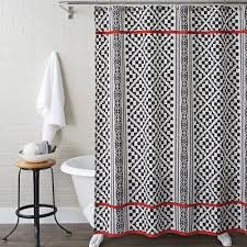 better homes and gardens shower curtain aztec diamonds garden