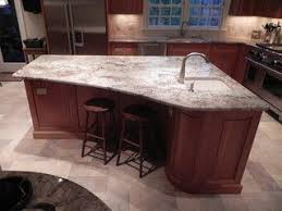 triangular kitchen island a large version of possible shape kitchen remodel