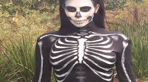 kim kardashian skintight skeleton halloween costume youtube