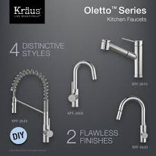kraus pull out kitchen faucet kitchen faucet kraususa com