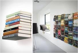 fancy ideas invisible shelves stylish conceal shelf bookshelf