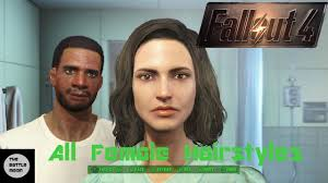 t haircuts from fallout for men all female hairstyles fallout 4 character creation youtube