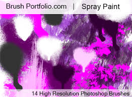 Photoshop Spray Paint - free photoshop brushes from brushportfolio com original high