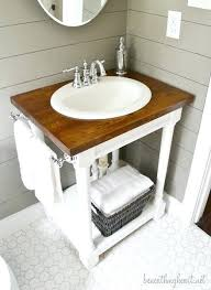 Diy Rustic Bathroom Vanity Bathroom Vanity Diy Diy Rustic Bathroom Vanity Plans Fazefour Me