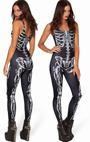 Womens Skeleton Halloween Costume Aliexpress Image