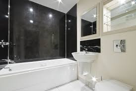 black tile bathroom ideas 15 black and white bathroom ideas design pictures designing idea