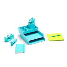 aqua blue desk accessories aqua dream desk