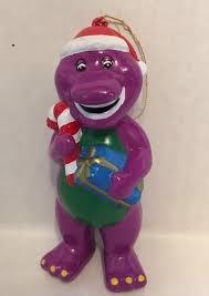 barney the purple dinosaur ornament lyons pbs
