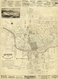 Austin Texas Map by Maps Cherrywood Neighborhood Association