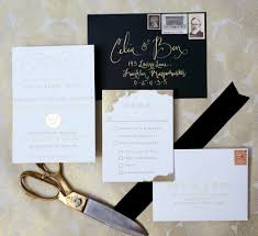 top compilation of gold foil wedding invitations theruntime com