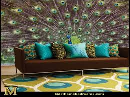 peacock decorations for bedroom homes design inspiration