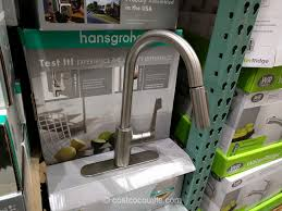 hansgrohe kitchen faucet costco hansgrohe cento pull kitchen faucet costco 7 jpg 1024 768
