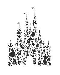 cinderella castle ideas disney castle tattoo clip art