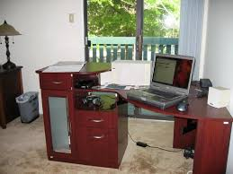 Bush Furniture Corner Desk Furniture Bush Furniture Corner Computer Desk With 4 Drawer Plus