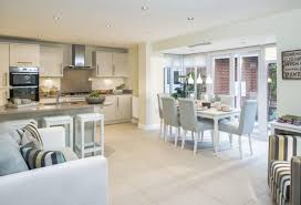 beautiful kitchen dining space light airy and welcoming