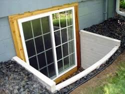 installing basement windows egress window installation in
