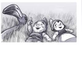 gnomeo juliet sketch gargoyles gnomes