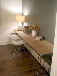 Building A Wooden Desk by Best 25 Long Desk Ideas On Pinterest Basement Office Cheap