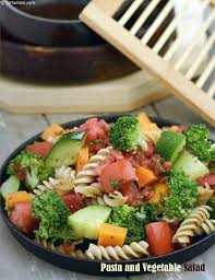 Garden Vegetable Salad by Pasta And Vegetable Salad Recipe By Tarla Dalal Tarladalal Com