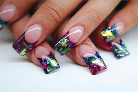 how can i get acrylic nails to shine better using top coats