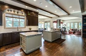 kitchen contractors island denver kitchen remodel features butlers pantry 2 islands