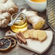 le gingembre en cuisine le gingembre pot de miel a séché la tranche de citron la