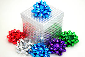 gift box bows sparkling gift box and bows stock photo image of square colors
