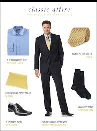 attire men wedding guest classic attire