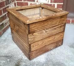 Cheap Planter Boxes by Original Outdoor Garden Planter Boxes Looks Cheap Article Diy