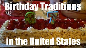 birthday traditions in the usa