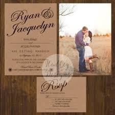 rustic wedding invitations country wedding invitations western