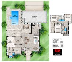 Color Floor Plan South Florida Designs French Style Great Room Floor Plan South