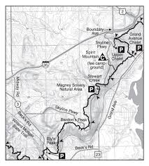 Rose Hills Map Trail Section Mn Wi Border To Duluth Hike The Sht