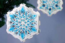 thousands of snowflakes in one card dahmen