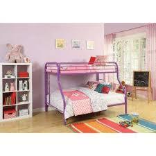 purple bunk u0026 loft beds kids bedroom furniture the home depot