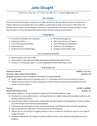 Sample Resume For Tutors by Professional Substitute Teacher Templates To Showcase Your Talent