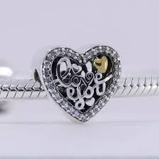 bracelet love you images Fits pandora bracelet love heart silver beads i love you gift 925 jpg