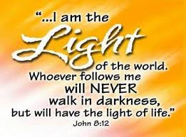 scripture about being the light messiah the light of the world